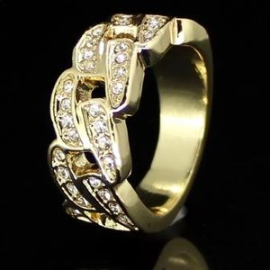 Other - 14k Cuban Link Style Pinky Ring